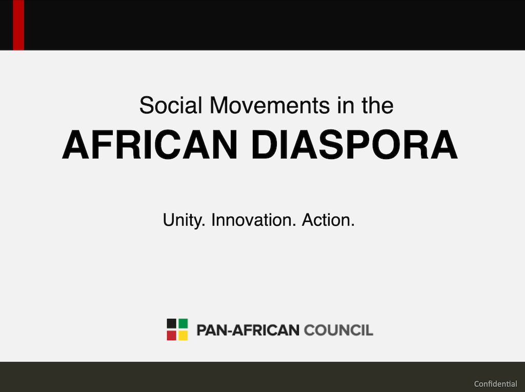 Social Movements of the African Diaspora - Brazil