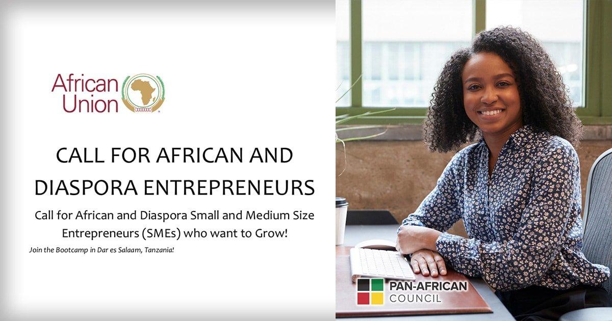 AU Call for African and Diaspora Entrepreneurs
