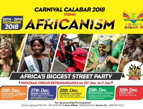 Nigeria's Cross River State Carnival Commission invites PAC to 2018 International Carnival Calabar and Festivals