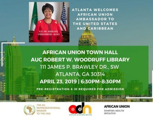 African Union Town Hall in Atlanta