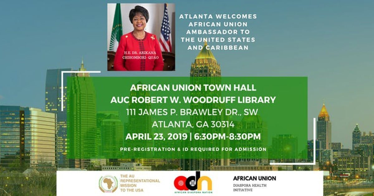 African Union Town Hall Atlanta