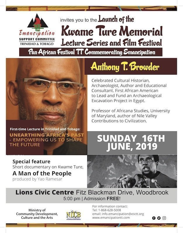 Launch of 2019 Kwame Ture Memorial Lecture Series and Film Festival Trinidad 2019