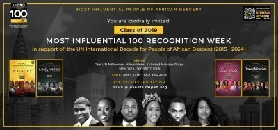 Most Influential People of African Descent 100 Recognition Week 2019